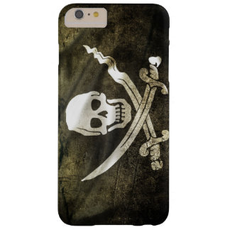 Pirate Skull in Cross Swords Barely There iPhone 6 Plus Case