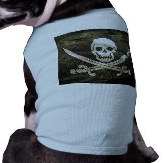 Pirate Skull in Cross Swords Shirt