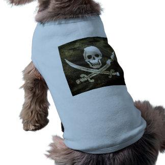 Pirate Skull in Cross Swords Tee