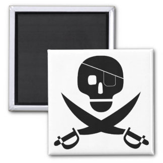 Pirate Skull Magnet