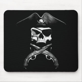 Pirate Skull Mouse Pad