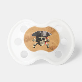 Pirate Skull Pacifier