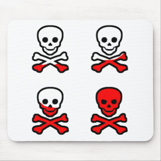 Pirate Skull Pad Mouse Pad