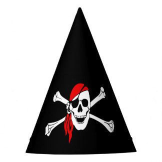 Pirate Skull Party Hat