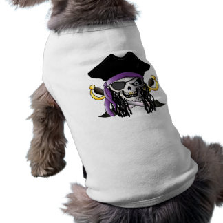 'Pirate Skull' Pet Shirt