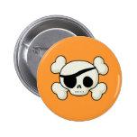 Pirate Skull Pins