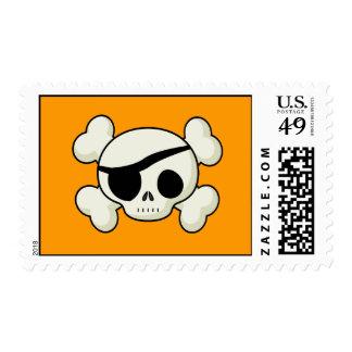 Pirate Skull Postage