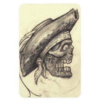 Pirate Skull Premium Flexi Magnet