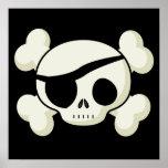 Pirate Skull Print