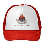 pirate-skull-red, PIRATTITUDE Hats
