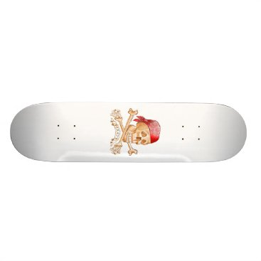 artmuvz Pirate Skull Skateboard