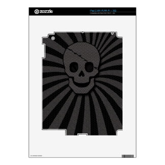 pirate skull decals for iPad 2