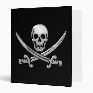 Pirate Skull & Sword Crossbones (TLAPD) Binder