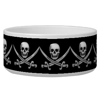 Pirate Skull & Sword Crossbones (TLAPD) Bowl