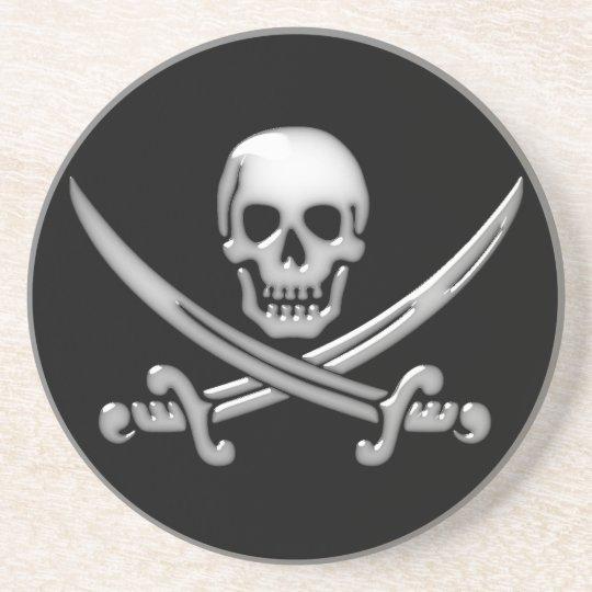 Pirate Skull & Sword Crossbones (TLAPD) Coaster