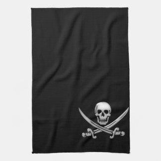 Pirate Skull & Sword Crossbones (TLAPD) Hand Towel
