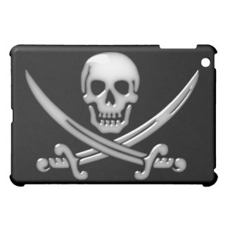 Pirate Skull & Sword Crossbones (TLAPD) iPad Mini Cover