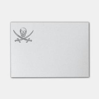 Pirate Skull & Sword Crossbones (TLAPD) Post-it Notes