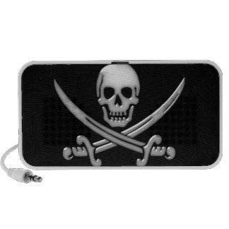 Pirate Skull & Sword Crossbones (TLAPD) iPod Speakers