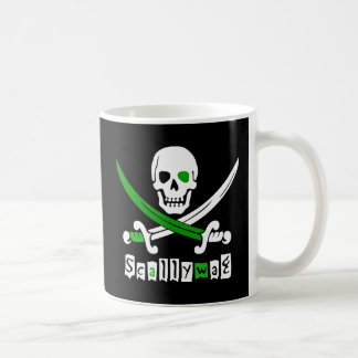 PIRATE Skull &Swords Coffee Mug