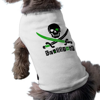 PIRATE Skull Swords Dog Clothes