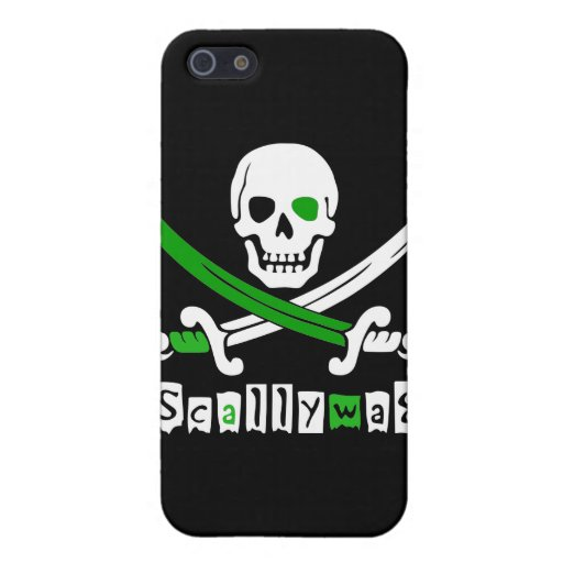 PIRATE Skull &Swords iPhone 5 Covers