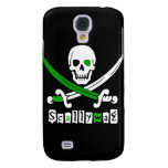 PIRATE Skull &Swords Samsung Galaxy S4 Cover