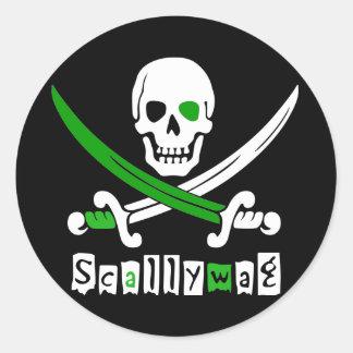 PIRATE Skull &Swords Stickers