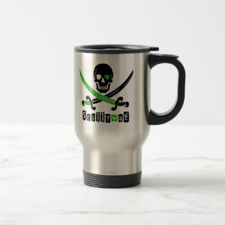PIRATE Skull &Swords Travel Mug