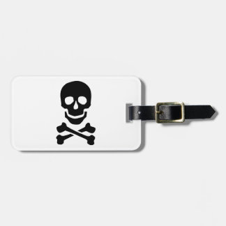 Pirate skull tags for bags