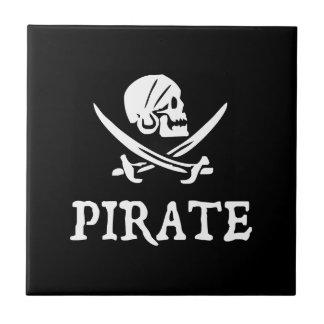 Pirate skull tiles