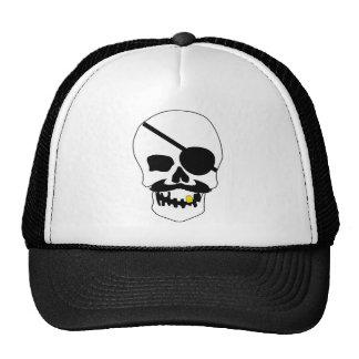Pirate Skull Trucker Hat
