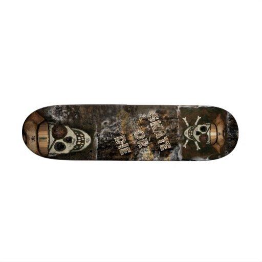 Pirate Skull Urban Skateboard