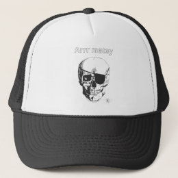 Pirate Skull & X-bones Trucker Hat