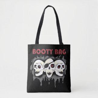 Pirate Skulls Booty Bag PLO Tote