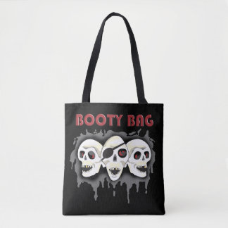 Pirate Skulls Booty Bag PLO Tote Tote Bag