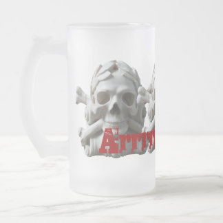 Pirate Skulls Frosted Mugs