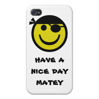 Pirate Smiley Case For iPhone 4