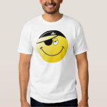 Pirate Smiley Face Tees