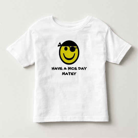 Pirate Smiley Toddler T-shirt