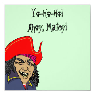 Pirate Speak Pirates Party Themed theme Invitation