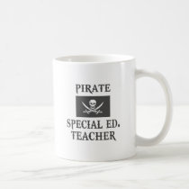Pirate Special Ed. Teacher Coffee Mugs