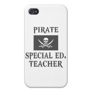 Pirate Special Ed. Teacher iPhone 4 Covers