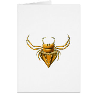 Pirate Spiders Greeting Card
