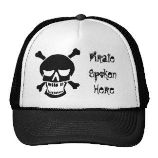 Pirate Spoken Here Trucker Hat