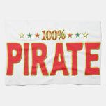 Pirate Star Tag Kitchen Towel