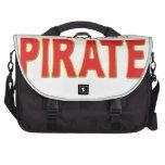 Pirate Star Tag Laptop Bag