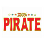 Pirate Star Tag Post Cards