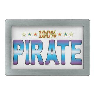 Pirate Star Tag v2 Belt Buckles