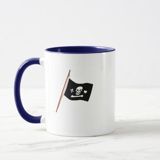 Pirate Stede Bonnet Jolly Roger Fflag Mug